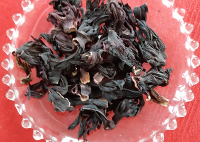 Hibiscus thee uit Ghana